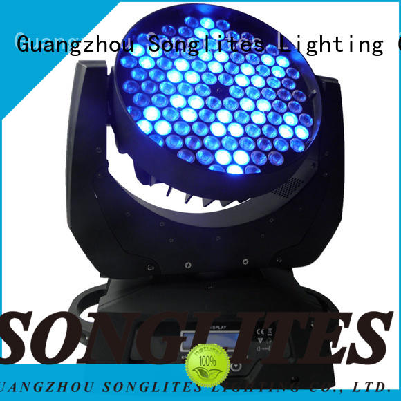 Songlites in1 mini led moving head light equipment for slow rocking