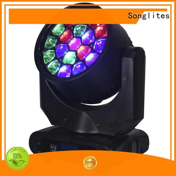 mr beams led lights 12w white dmx moving head Songlites Brand