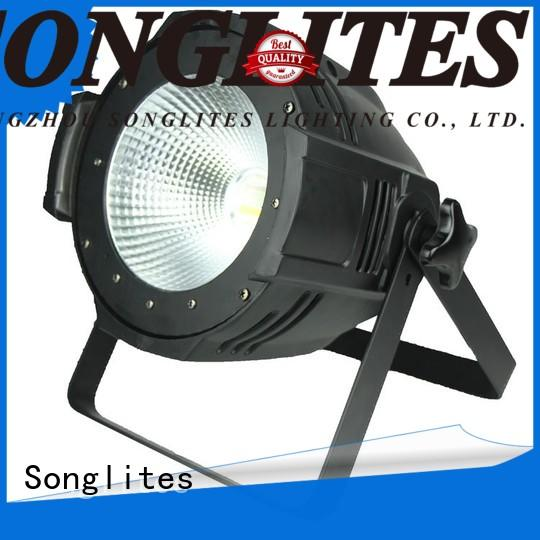 Songlites pure light par lighting fixtures with good heat dissipation for clubs