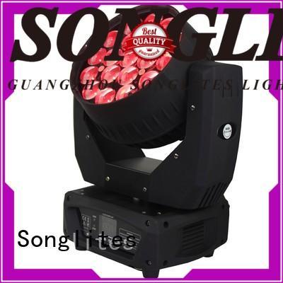 Songlites Brand rgbw design wash led zoom light supplier