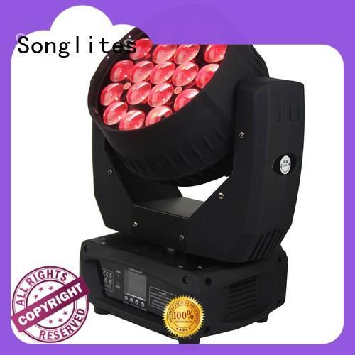 Songlites electronic intimidator wash zoom 350 irc zoom for dance halls