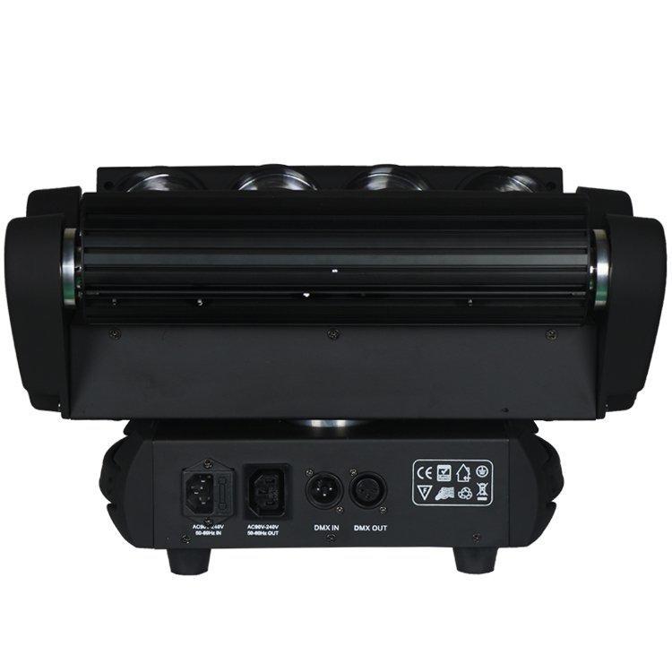 Spider LED Moving Head 8PCS 10W LED  Beam Effect Light SL-1031