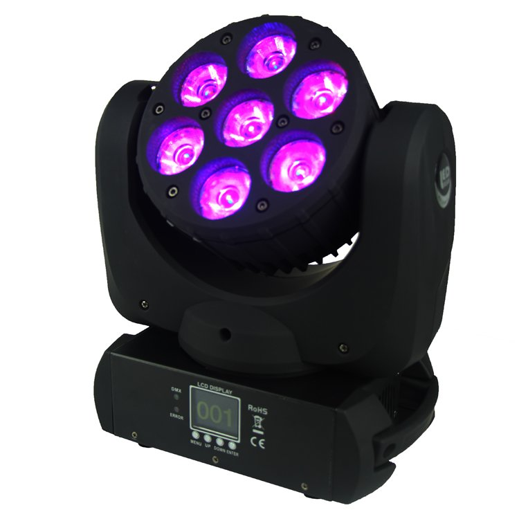 Songlites 7PCS 12W Osram  4 In1 Beam LED  Moving Head Light SL-1012A Beam LED Moving Head Light image63
