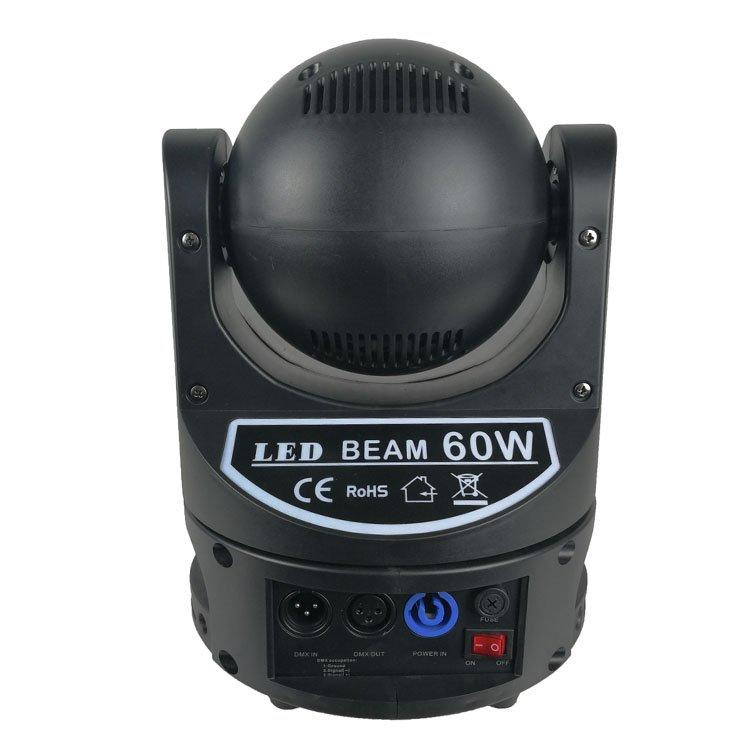 Moving Head Light 60W 4In 1 LED Beam SL-1063