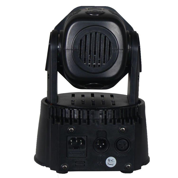 15W Moving Head Light 7PCS 6 In1 LED Wash SL-1005-6IN1
