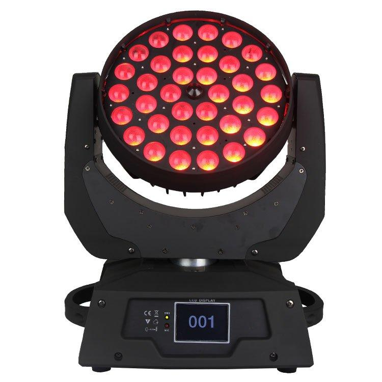 Moving Head Light 36PCS 10W 4 In1 LED Wash Zoom SL-1006B-4IN1