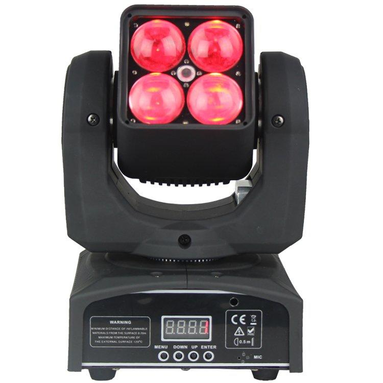 90W Zoom Moving Head Light OSRAM 4 In1 LED Wash SL-1038