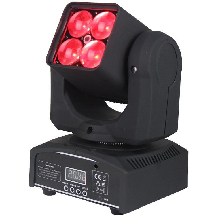 90W Zoom Moving Head Light OSRAM 4 In1 LED Wash SL-1038