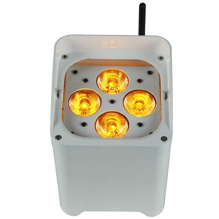 Par Can 4PCS LEDs Indoor Mini Wireless Battery SL-3415