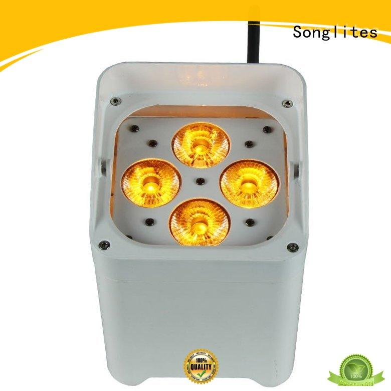 rgbw leds 6pcs Songlites Brand indoor party lights
