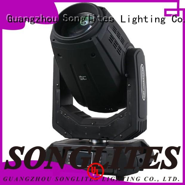 Songlites 189w led moving head beam light energy saving for bands