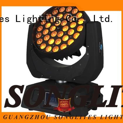 High Bright led moving head spot 18w on sale for bands