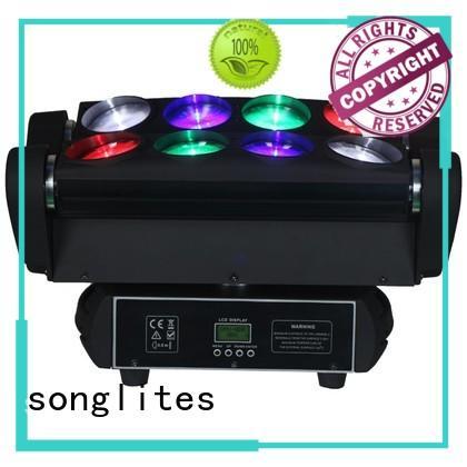 led spider beam 10pcs for bars Songlites