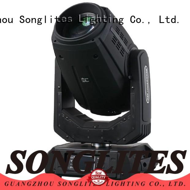 Songlites attractive led moving head beam light online for dance halls