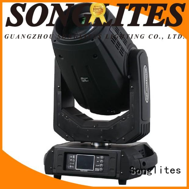 Songlites beam beam moving head light price orientable for dance halls