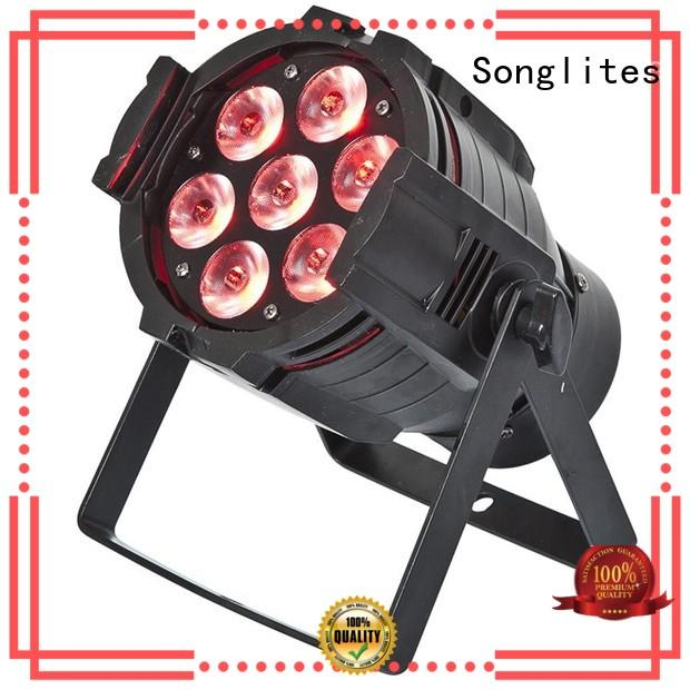Songlites stable 54 led par light indoor for band