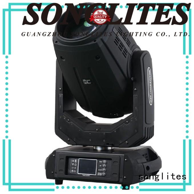 Songlites Electronic led moving head beam light for sale for exhibitions