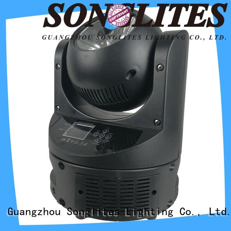 Songlites 12w dj moving light price onlion for stage