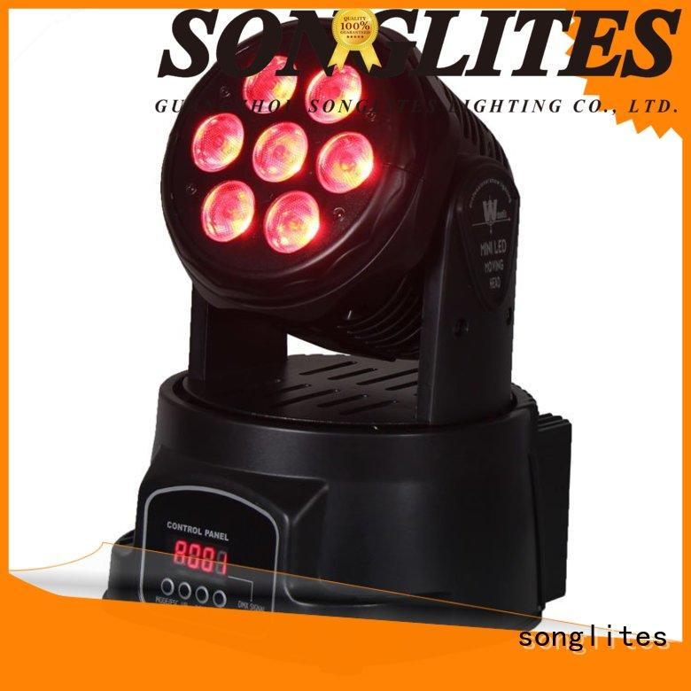 Songlites rgb moving head light package for sale for stage