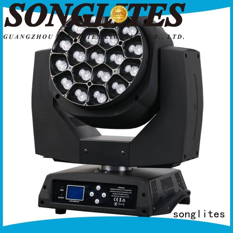 Songlites perfect effects colorstage 5 beam spider moving head price spotlight for bars