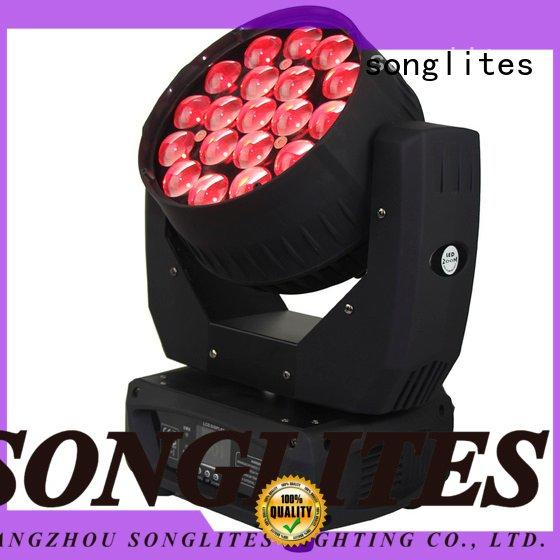 19pcs rgbw Songlites design wash led zoom