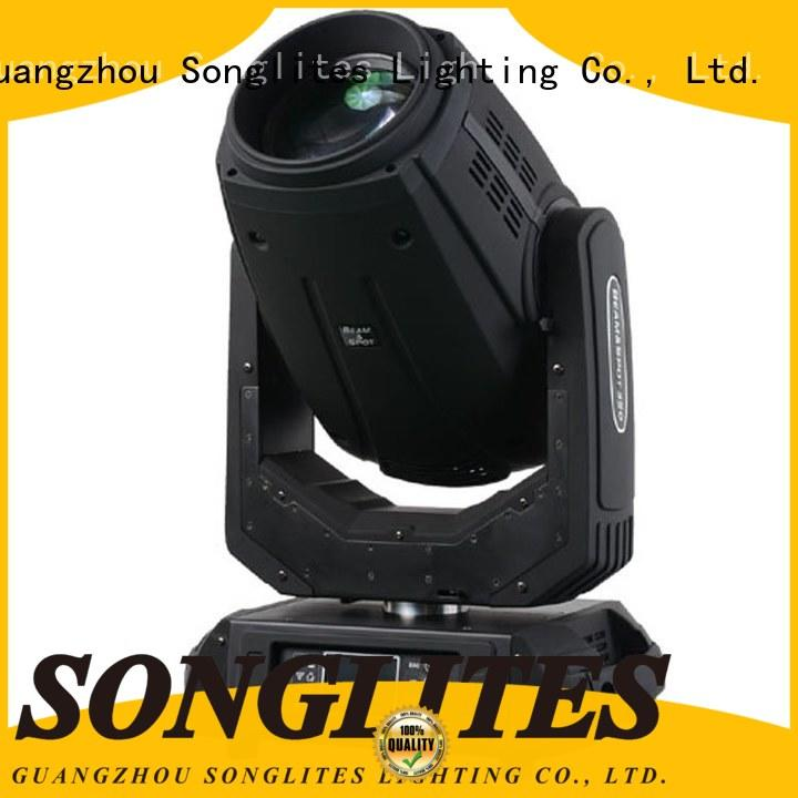 Songlites attractive brightest headlights orientable for exhibitions