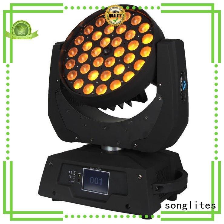 Songlites Brand led design wash led zoom moving supplier