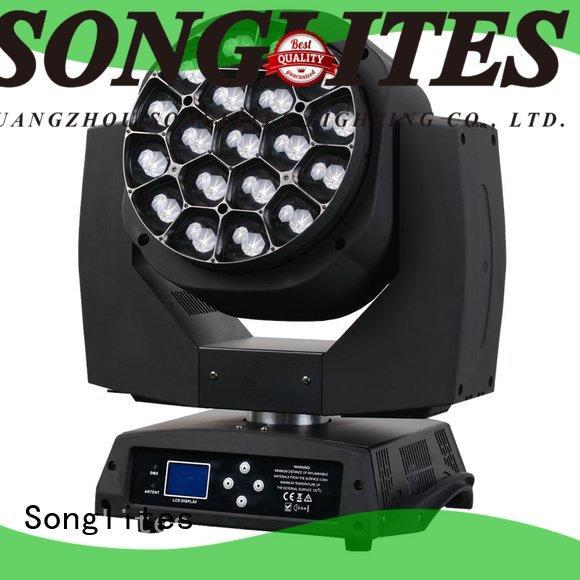 Songlites design wash led zoom 36pcs 19pcs wash zoom