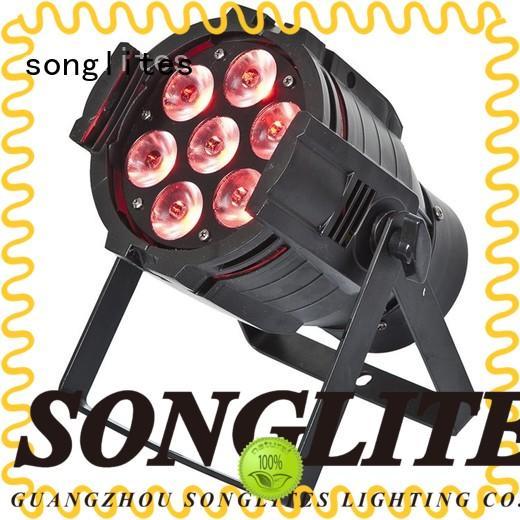 Songlites adjustable 54 led par light Auto operation for wedding