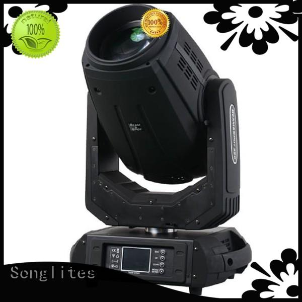 fast beam moving head light price energy saving for bands