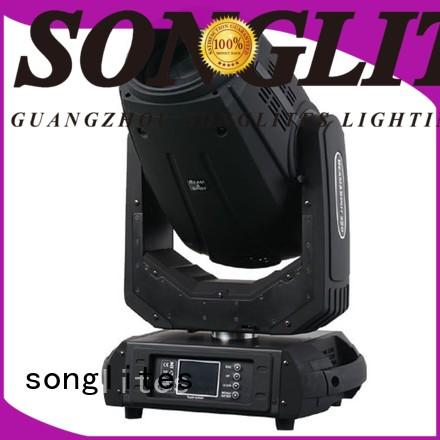 convenient led moving head beam light moving energy saving for bars