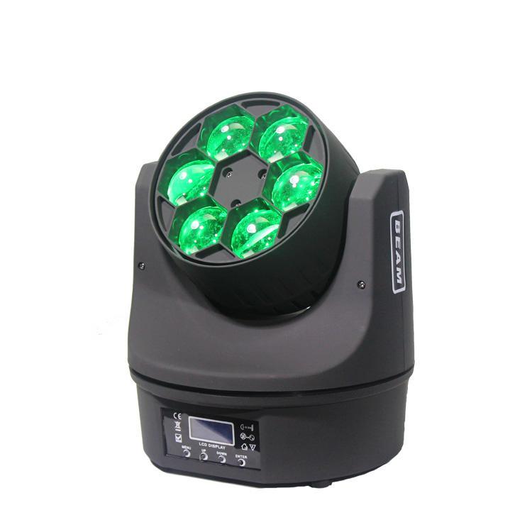 LED mini bee eye 6pcs 15w 4in1 rgbw moving head light SL-1046