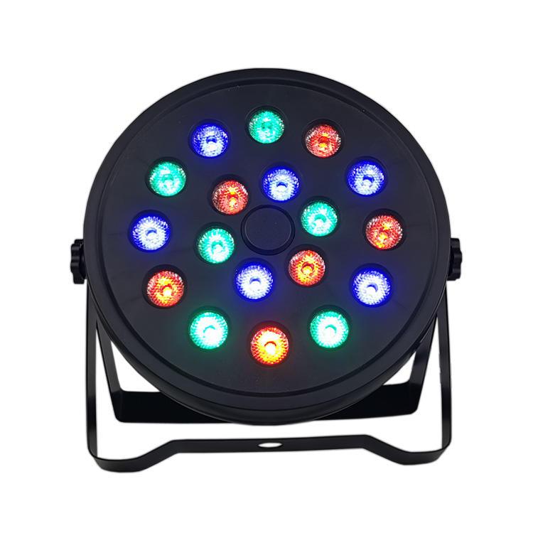 Mini LED 18X1W RGB Wash Flat Par light SL-3136A18RGB