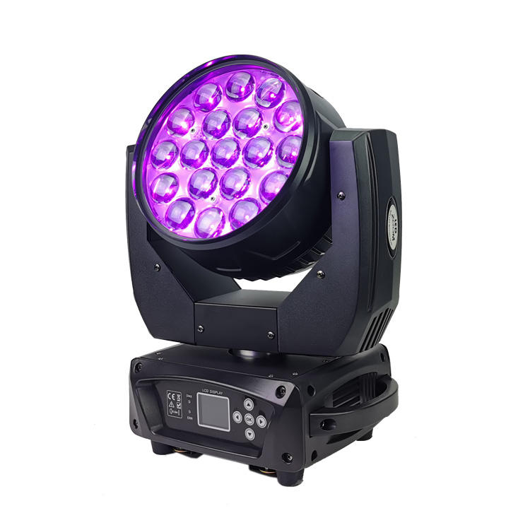 Moving Head light 19PCS 15W 4 In1 Osram Wash Zoom LED SL-1029A