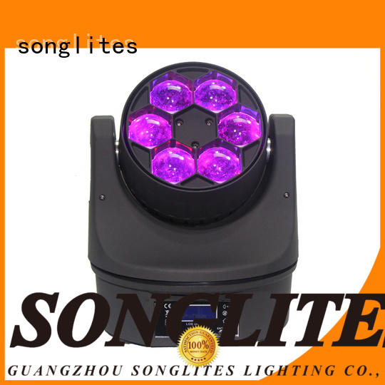 Songlites 10pcs moving beam light performance for performances