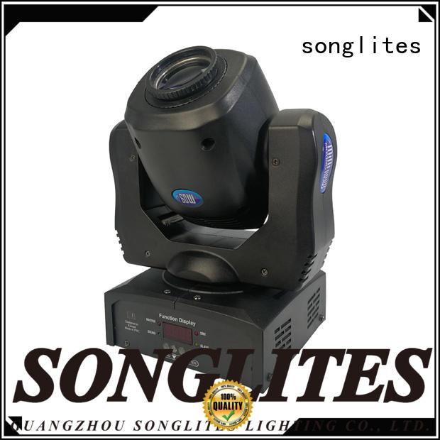 Songlites head cree spotlights energy saving for night club