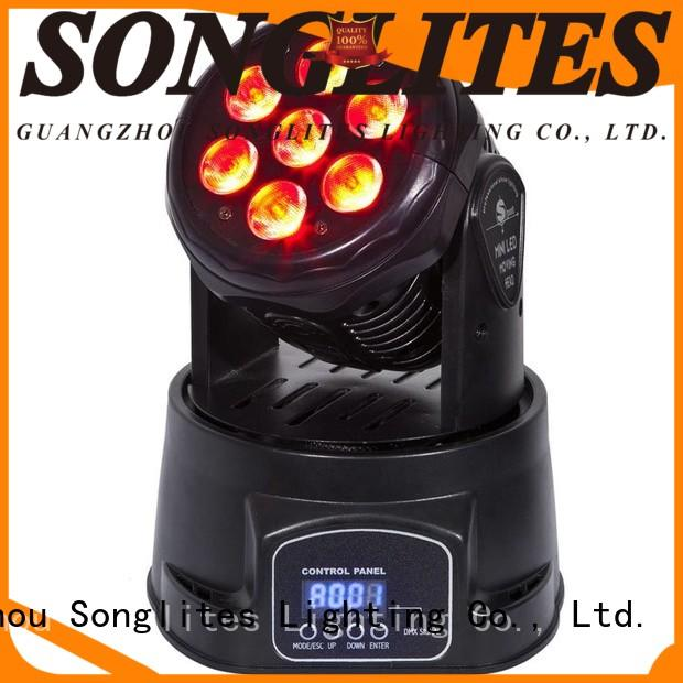 Songlites 148w moving head lights equipment for slow rocking