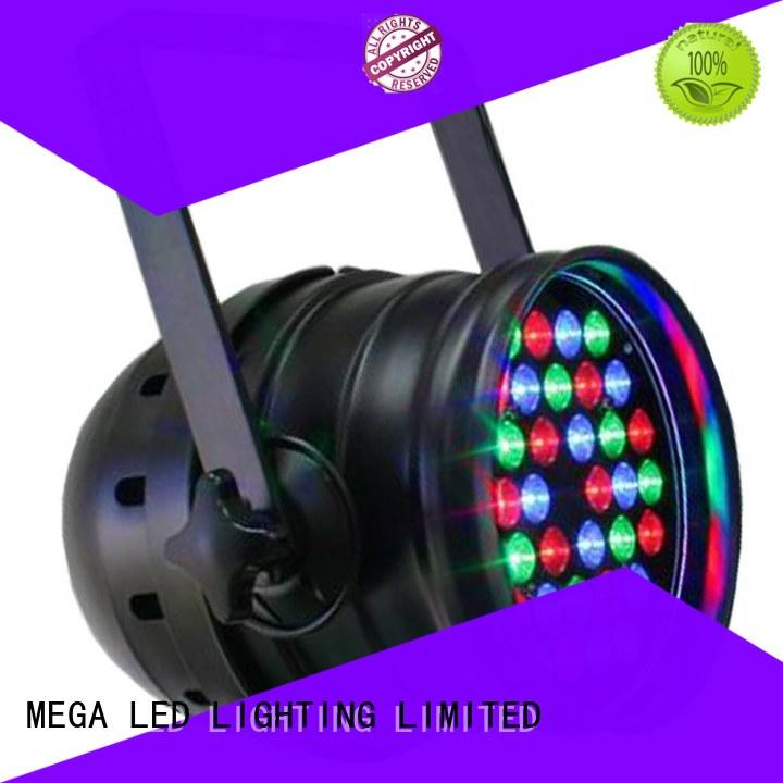 light color changing stage lights Auto operation for band