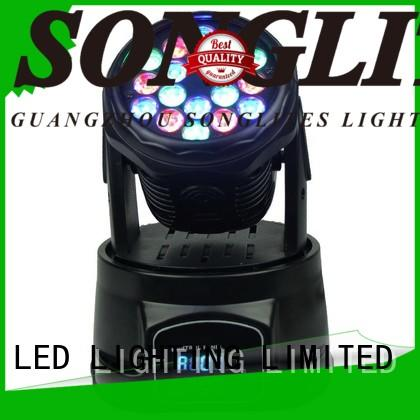 Songlites Brand normal moving stage lights 3w factory