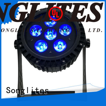 Songlites 9pcs dmx par can with discount for theaters