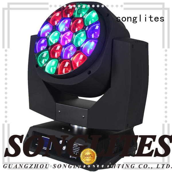 Songlites High Bright mini moving head led on sale for exhibitions