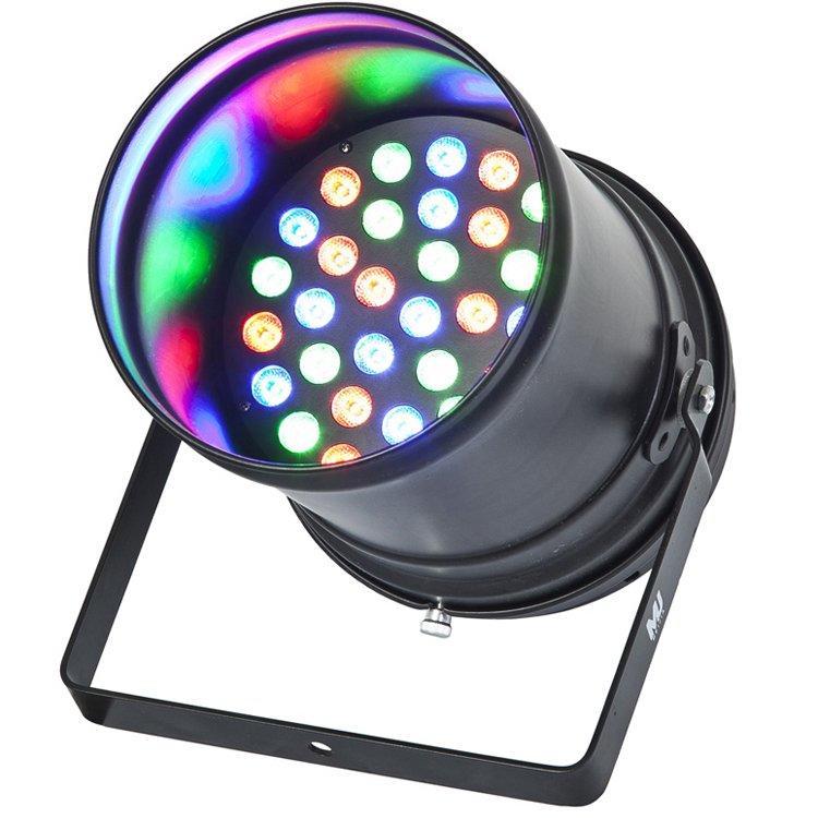 36PCS 3W LEDs RGBW Indoor Par Can Light SL-3004