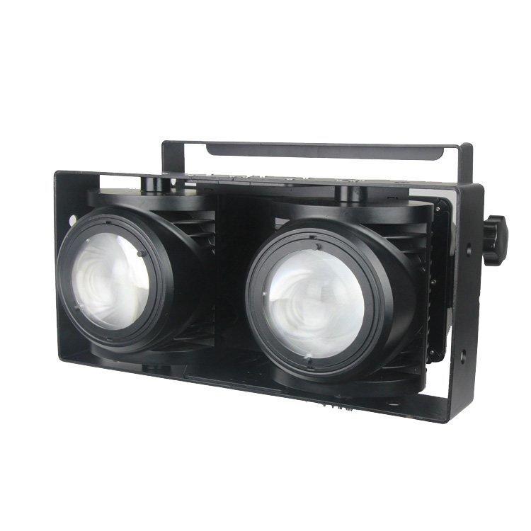 2PCS 100W Pure White + Warm White COB Par Light SL-2200
