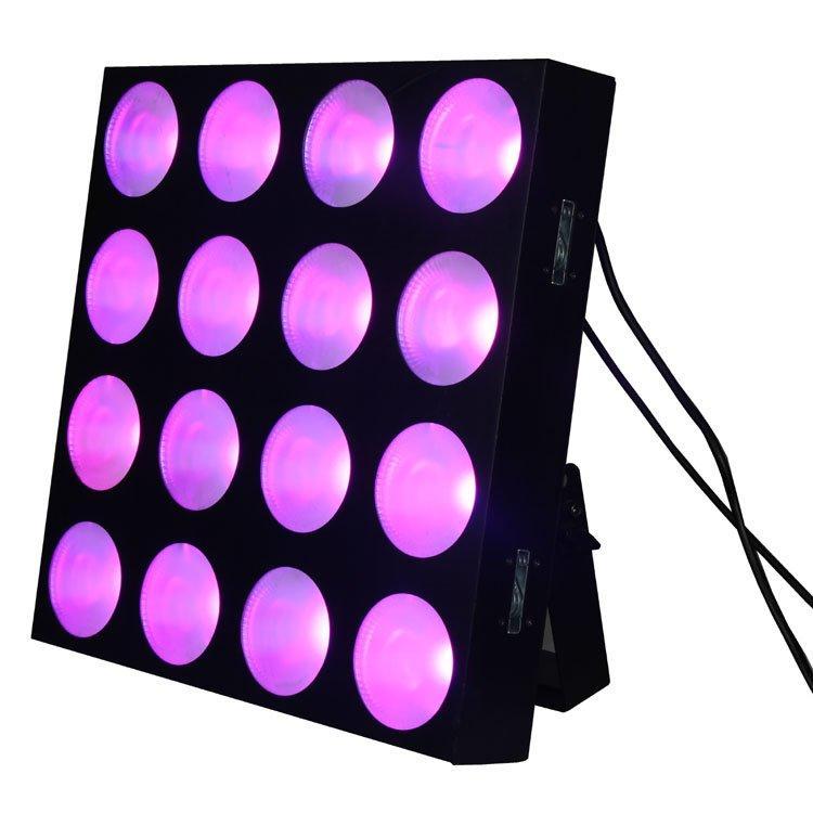 16PCS 10W 3 In1 LED Stage Matrix Light SL-3125C