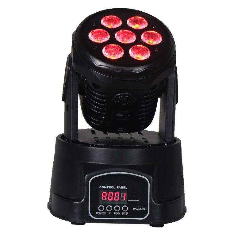 Moving Head Light 7PCS 10W 4in1 Mini Wash SL-1005-4in1