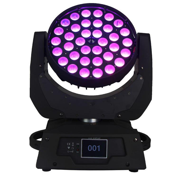 Wash Moving Head Light 36PCS 15W 5 In1 LED Zoom SL-1006B-5IN1
