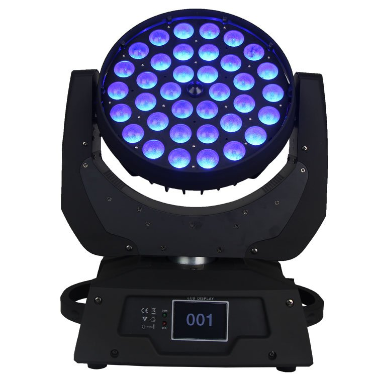 Songlites 36PCS 18W 6In1 LED Wash Zoom Moving Head Light SL-1006B3-6IN1 Wash Zoom Moving Head Light image13