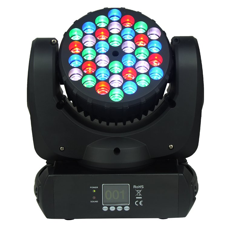 Songlites 36PCS 3W CREE RGBW Beam LED Moving Head Light SL-1012 Beam LED Moving Head Light image12