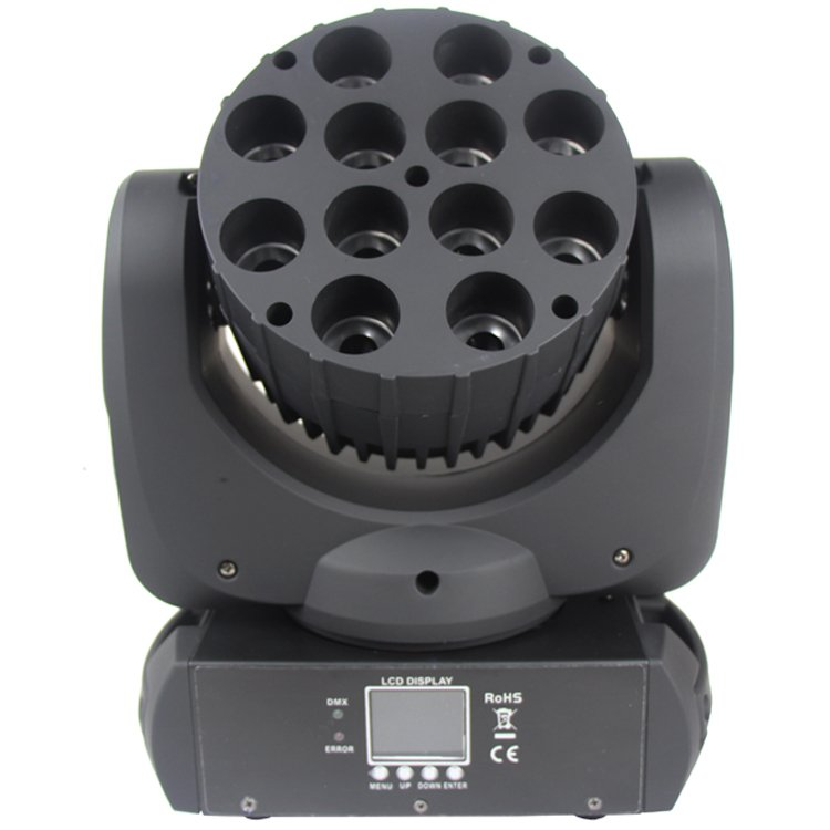 Songlites 12PCS 12W CREE 4in1 Beam LED Moving Head Light SL-1012C Beam LED Moving Head Light image11