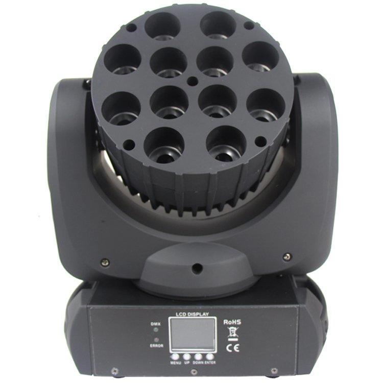 Beam Moving Head 12PCS 12W CREE 4in1 Beam LED SL-1012C